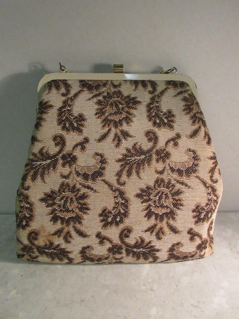 Vintage 1930's Tapestry Handbag