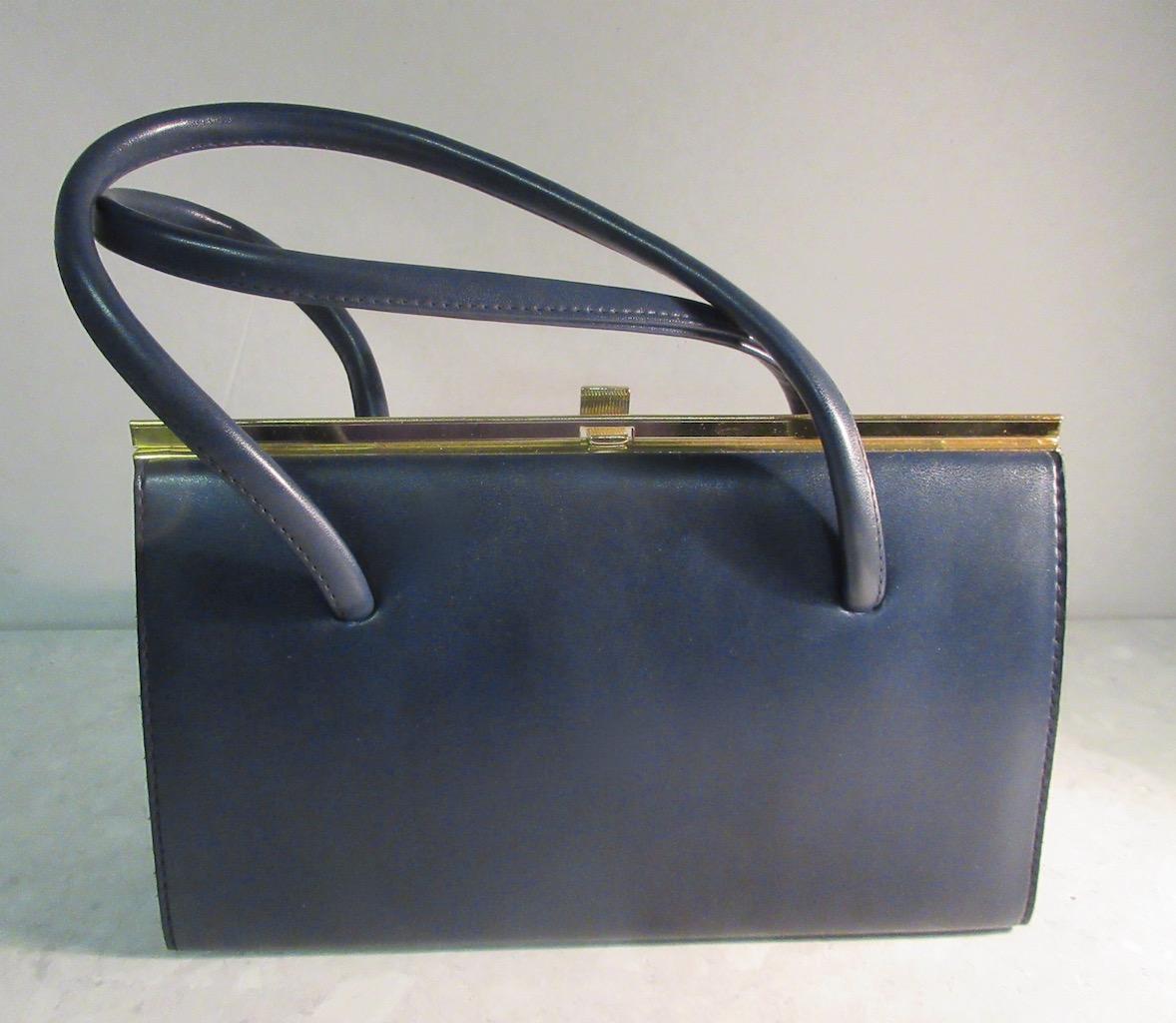 1950s kelly style handbag