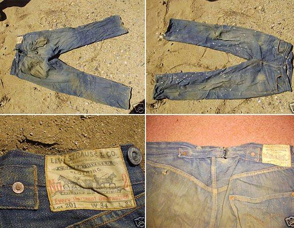 Rarest vintage levi jeans
