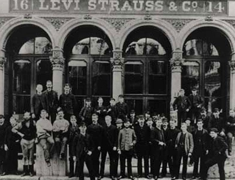 Levi strauss history