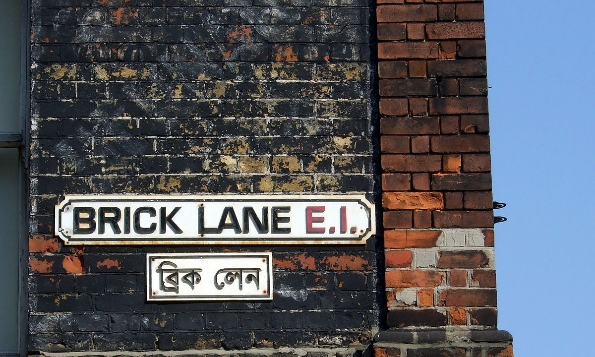 Brick Lane Vintage shopping