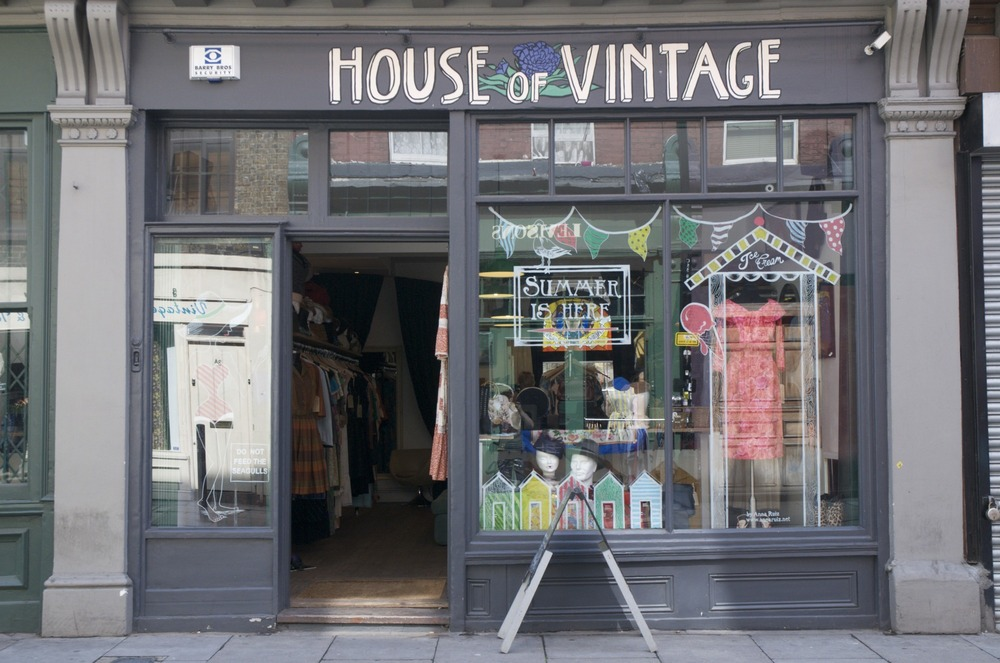 House of Vintage, Cheshire Street