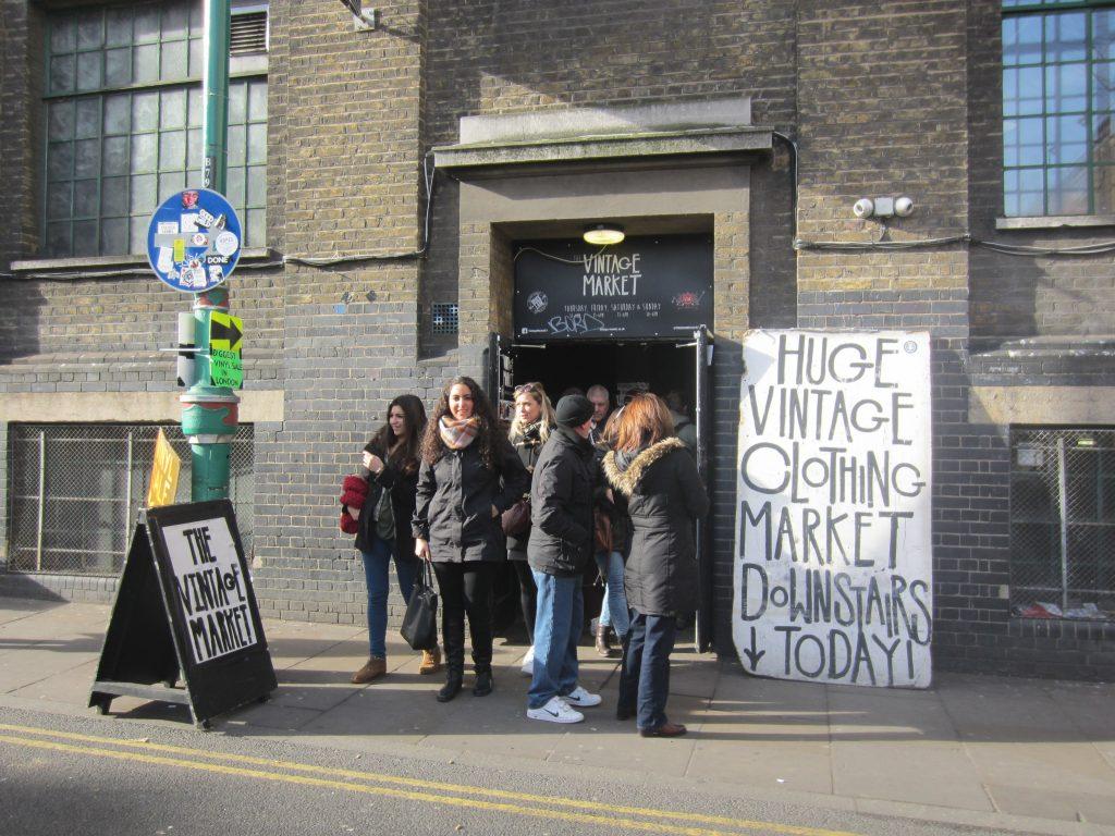 The Vintage Market Brick Lane